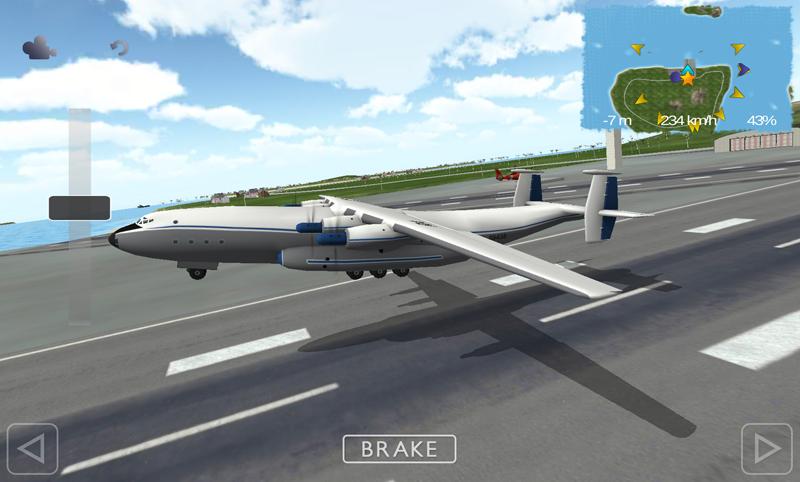 Flight Sim Antonov An-22