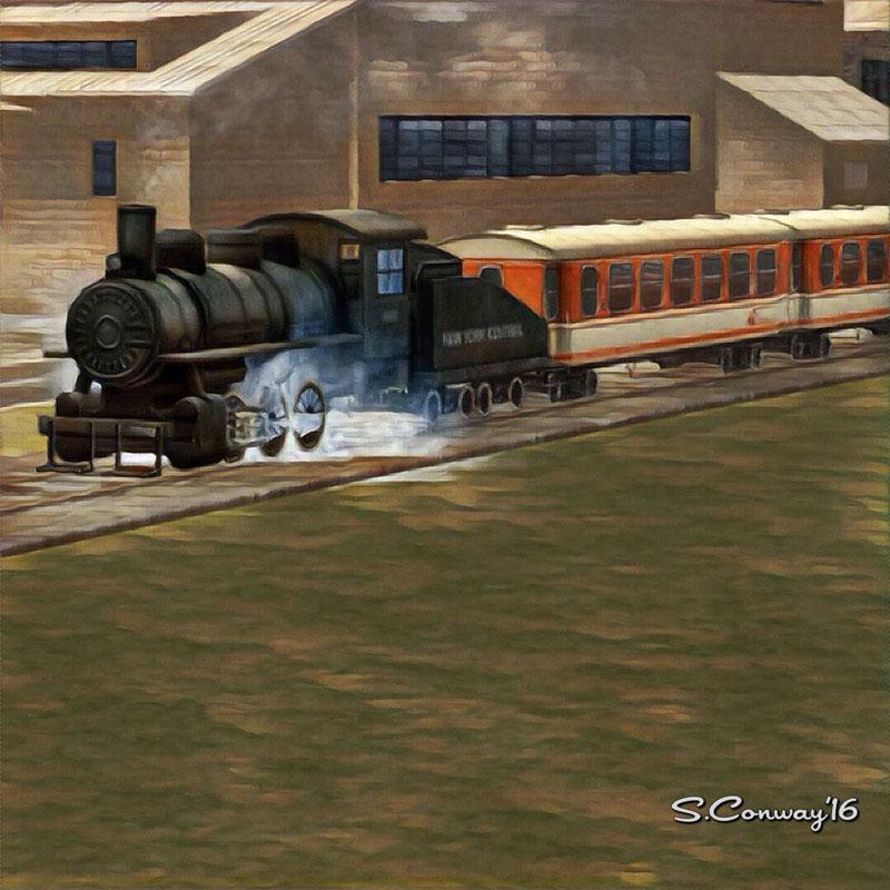 Train Sim Art Steam Train