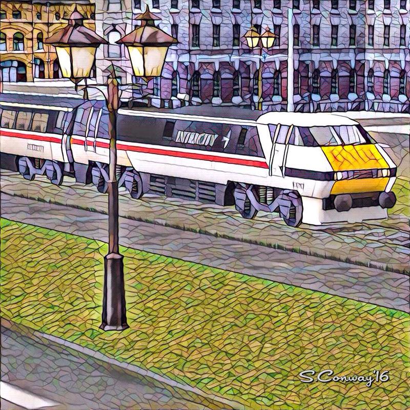 Train Sim Art - Intercity