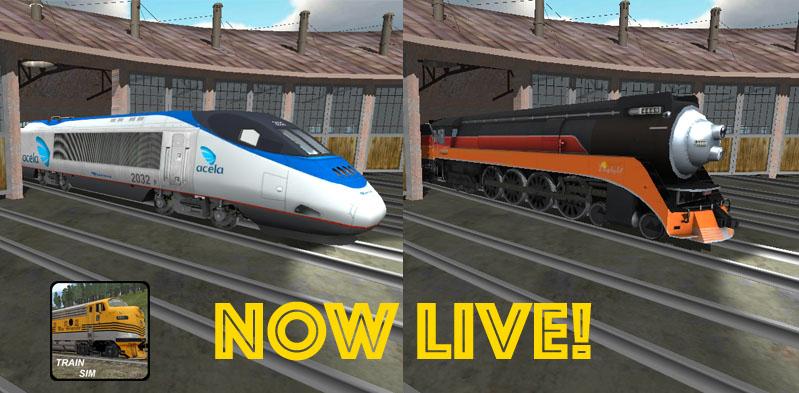 Acela Express & SP 4449