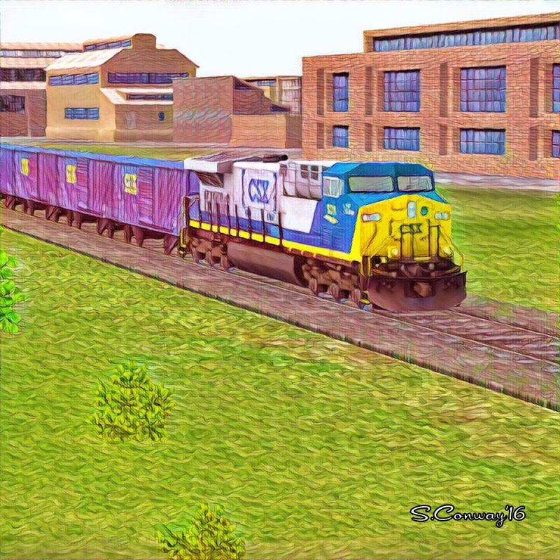 Train Sim Art - CSX