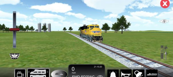 Train Sim New Rails